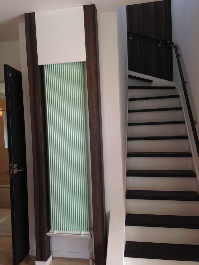 玄関のクール暖パネル