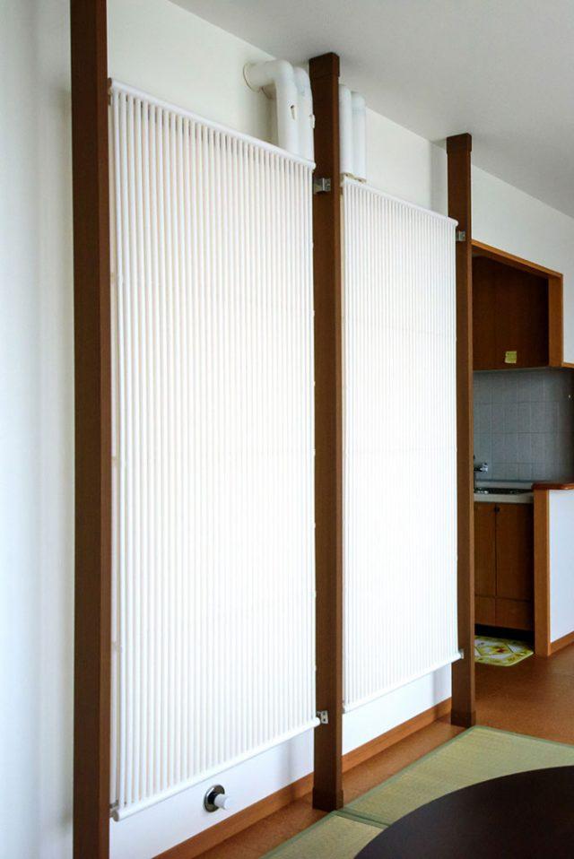 名古屋クール暖体感モデルハウスのクール暖パネル