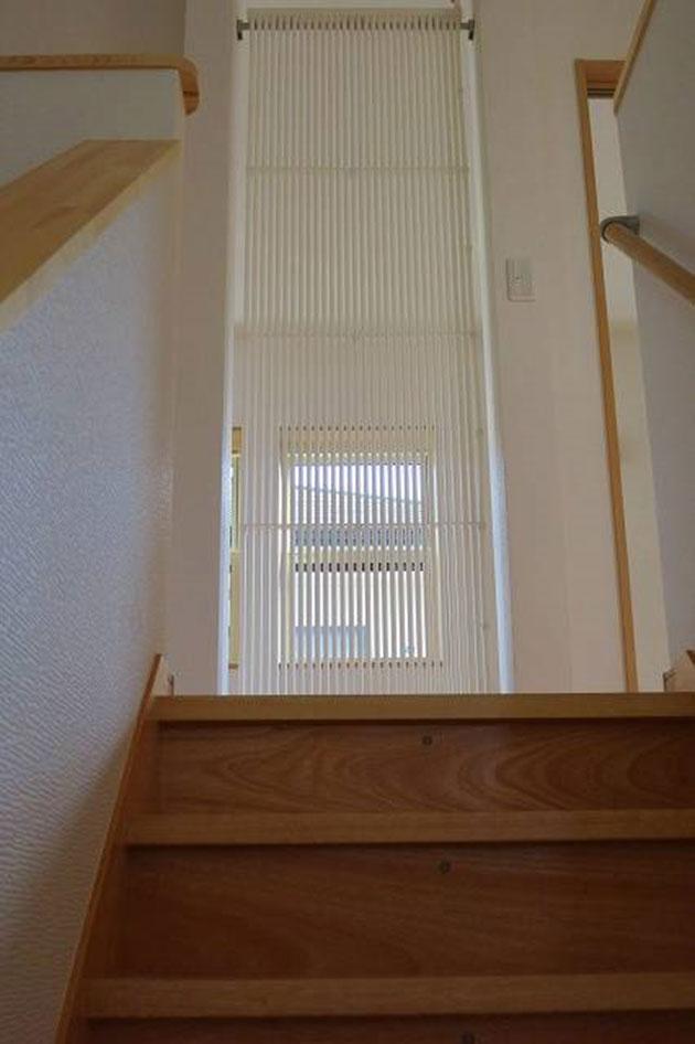2階の共用部と子供室の間仕切り