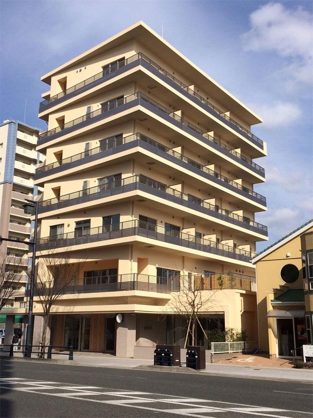 福岡市内の某高齢者住宅に輻射冷暖房クール暖