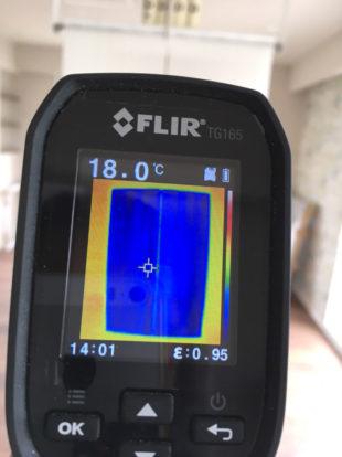 クール暖パネルの温度