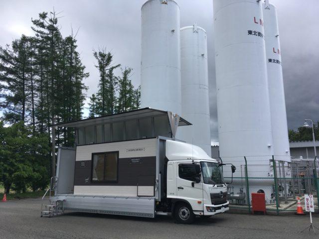 キャラバンカー2号車 in 花巻市