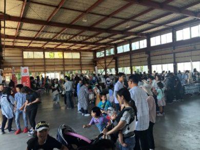静岡県の株式会社カワイ様の住宅イベント「大工職人祭り」の様子