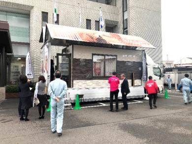 クール暖体感キャラバンカー 佐賀県の株式会社N建設様訪問