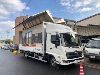クール暖体感キャラバンカー 福岡県のセセトータル技研様訪問