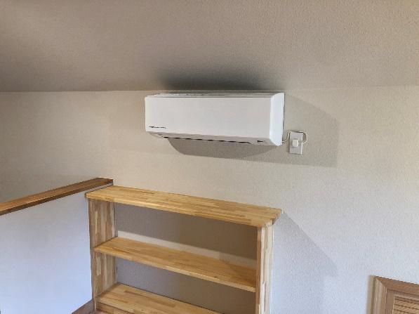 少ない冷暖房機器